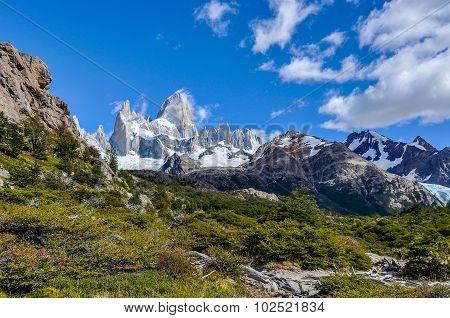 Fitz Roy Peaks, El Chalten, Argentina, El Chalten, Argentina