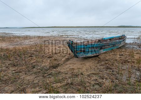 Old Wooden Boats Ashore