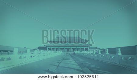 Forbidden City China History Architecture Concept