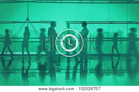 Clock Time Timer Organization Hour Minute Concept