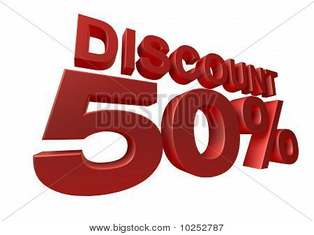 3d render discount percentage