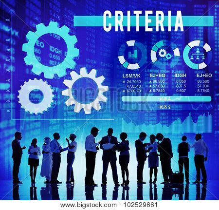 Criteria Information Regulation Rule Instructions Concept