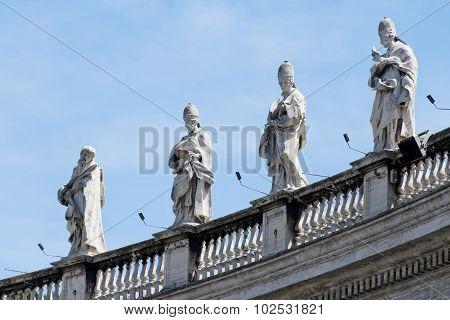 Vatican Colonnade Statues