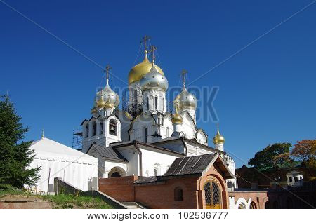 Moscow, Russia - September 21, 2015: Conception Convent In Autumn Day