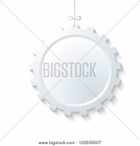 Gear-design-element-isolated-white-background