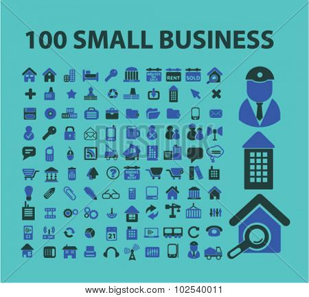100 small business icons