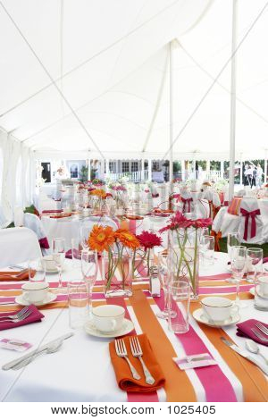 Fun And Funky Wedding Tables