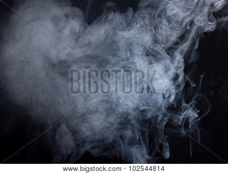 B&w Abstract Smoke
