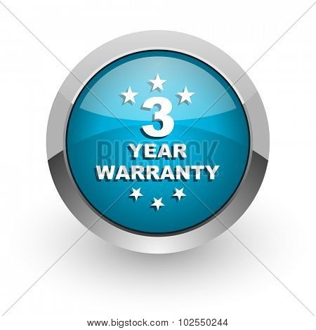 warranty guarantee 3 year icon