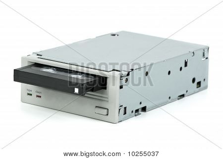Internal Tape Drive Unit With Cassette Inserted