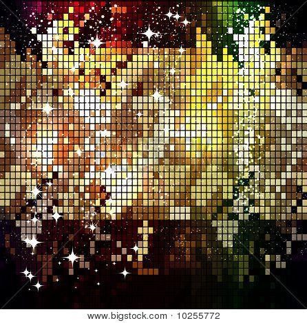 Shining Mosaic Pattern.