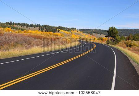 Road to Grand Tetons