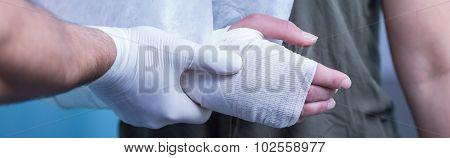 Professional Help In Emergency Room