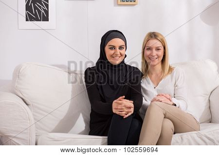 Intercultural Friendship Between Women