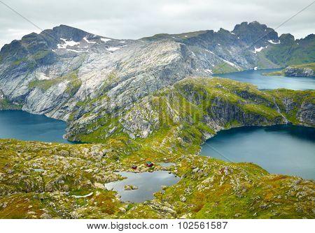 Northern Norway landscapes. Lofoten islands