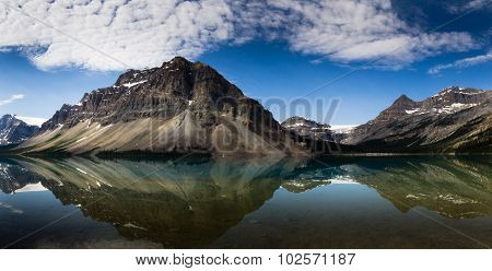 Reflection In Bow Lake