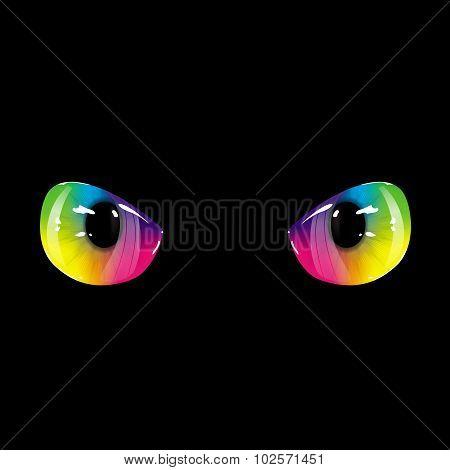Black Rainbow Eyes