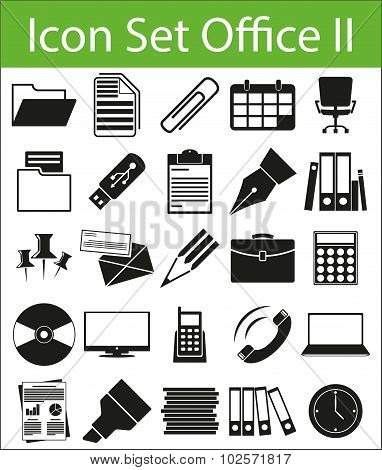 Icon Set Office Ii