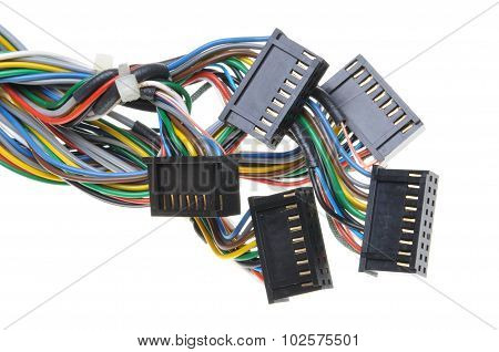 Computer connection cables and plugs