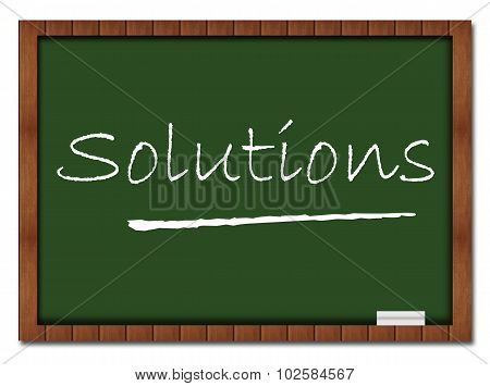Solutions Classroom Board