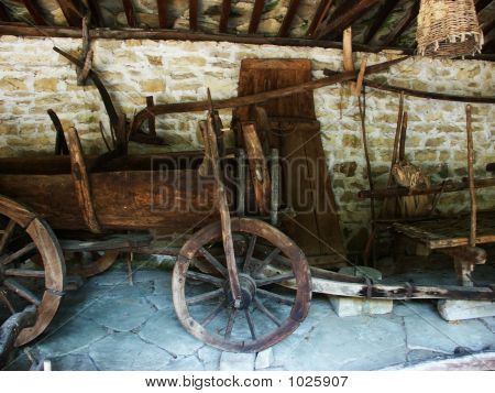Old Agricultural Instruments