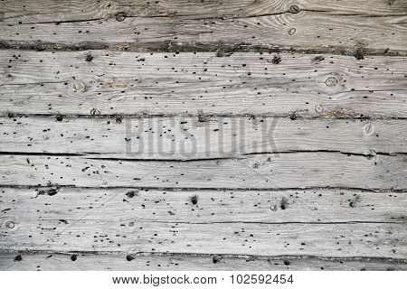 old wall with grey wooden texture