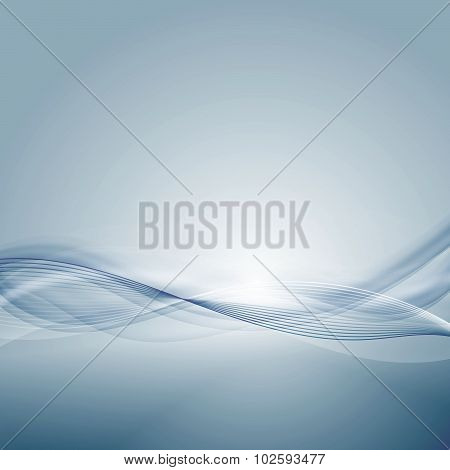 Light blue background with gradient and blend. Business style or technology clean design. Modern vec