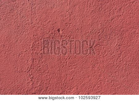 Pink Color Plaster Wall Texture