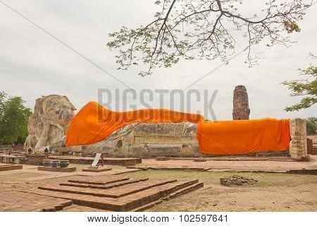 Old Stone Buddha