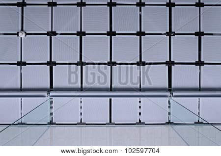 Suspended Ceiling With Curtain
