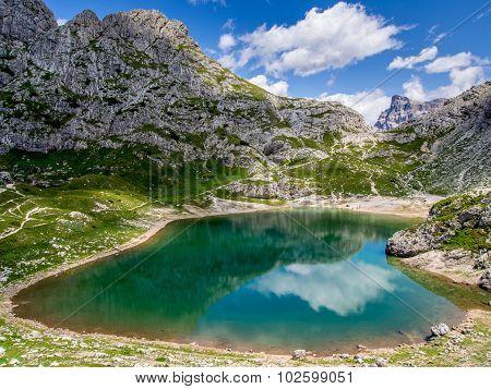 Lago Coldai - Dolomites - Italy