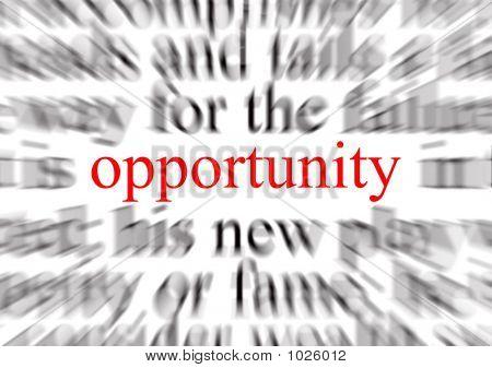 Oportunidade
