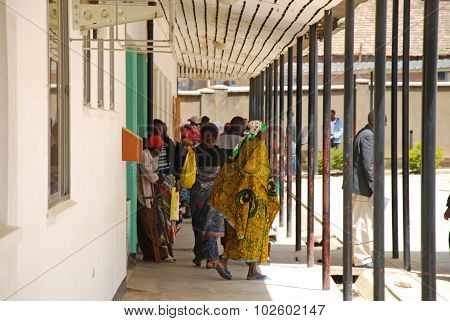The Coming And Going Daily To The Hospital Of Iringa, Tanzania, Africa 29