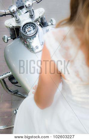 Wedding Motorcycle
