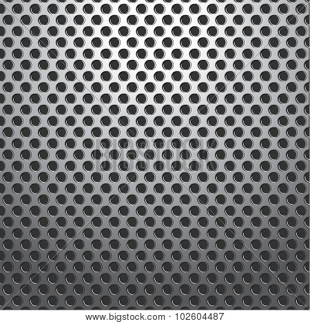 Metal Holes Plate Background Seamless
