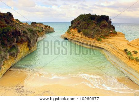 Sidari 'canal D'amour' Beach