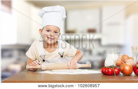 Cute bake chef.