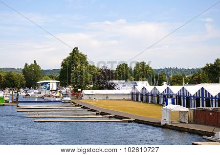 Regatta chalets, Henley-on-Thames.