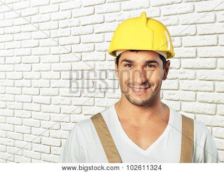 Workman portrait.