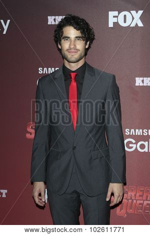 LOS ANGELES - SEP 21:  Darren Criss at the Premiere of FOX TV's