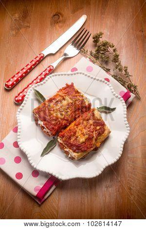Italian lasagne