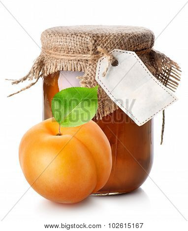 Apricot and jam