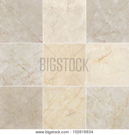 Nine Marble backgrounds.