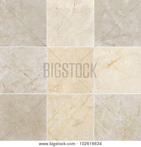 Nine Marble backgrounds.