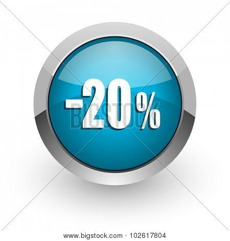 20 percent sale retail icon