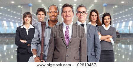Business people group. Finance and accounting concept.