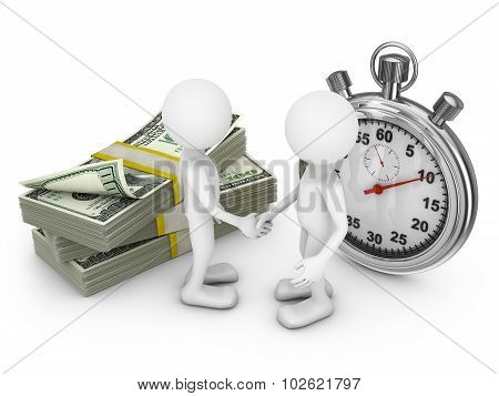 Two Man And Stopwatch
