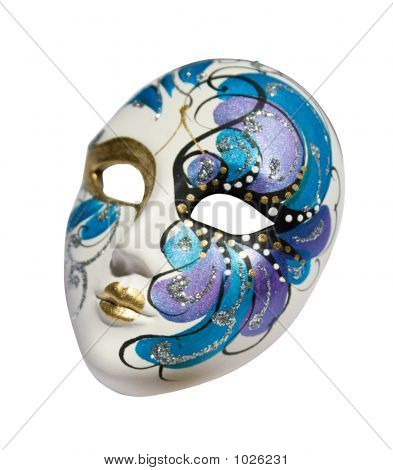 Venezianische Maske (Clipping Path)