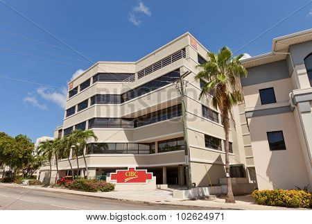 Office Of Cibc In George Town Of Grand Cayman Island