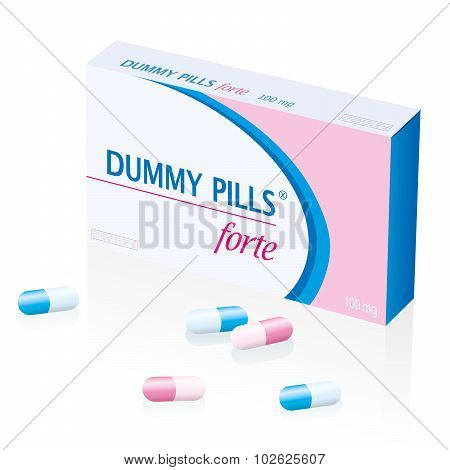 Dummy Pills Box